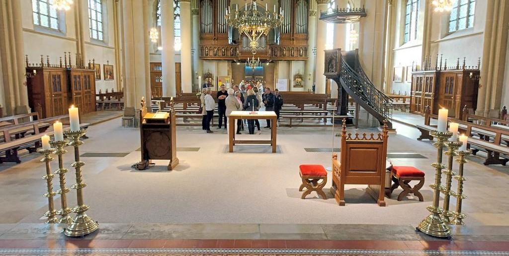 Kirchenumbau ab Juni geplant