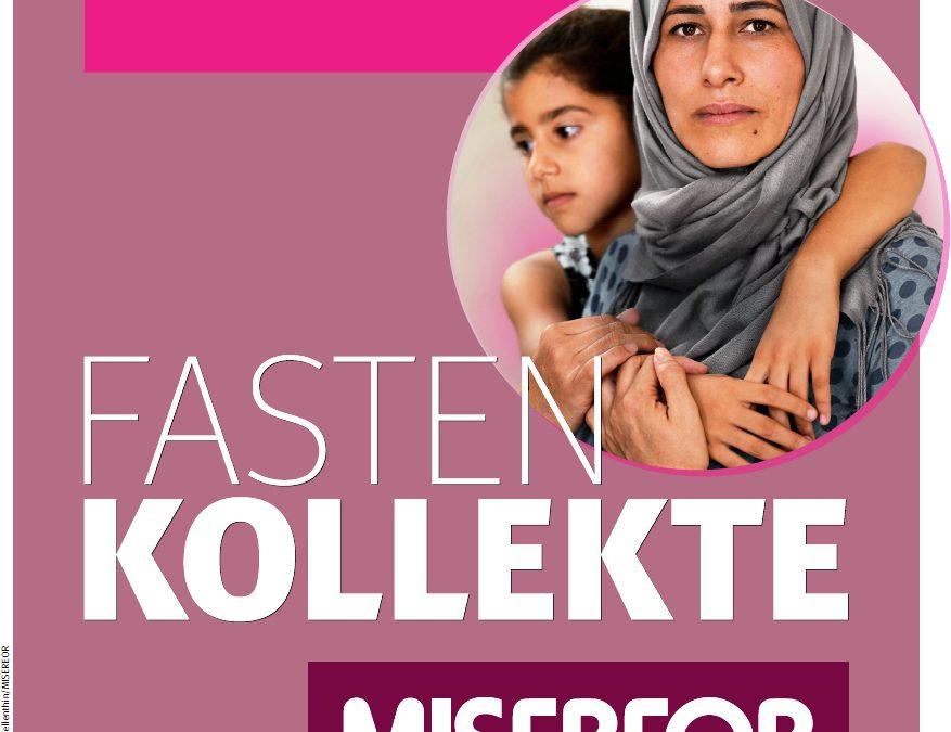 Misereor-Kollekte: Spenden überweisen