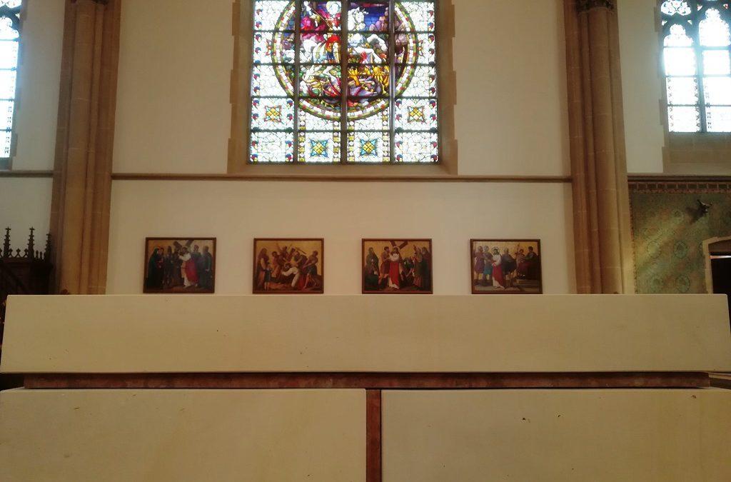 Einladung zur Kirchenbesichtigung mit geistlichem Impuls