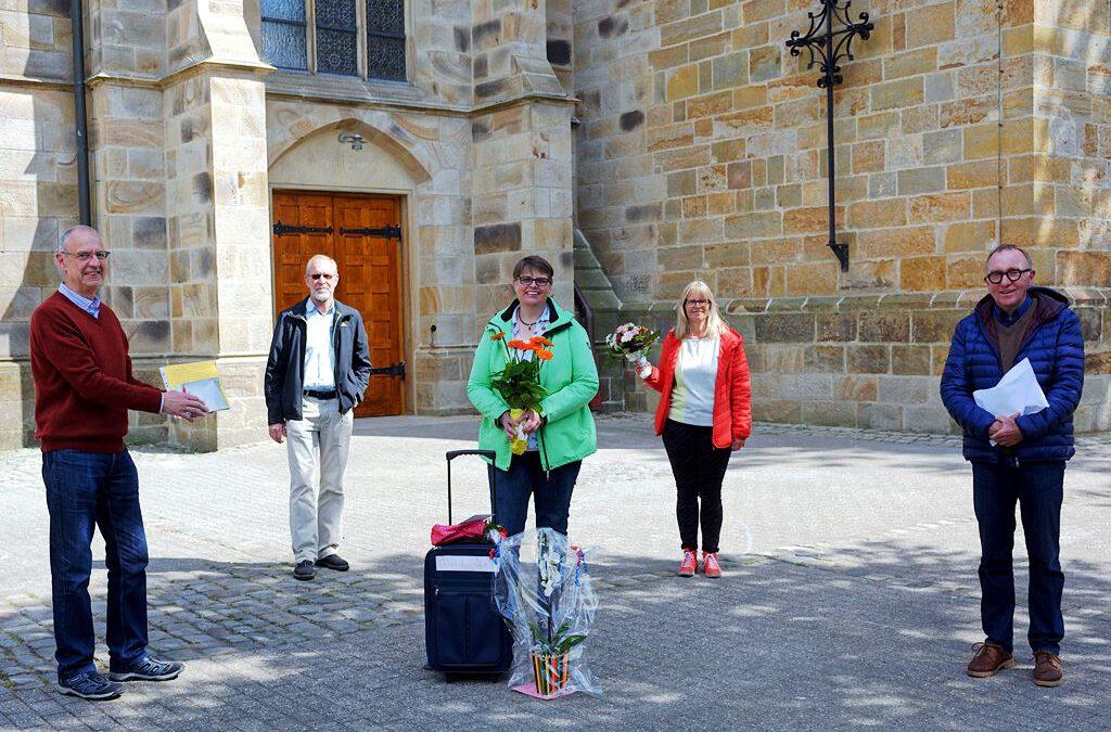 Petra Wieling verabschiedet