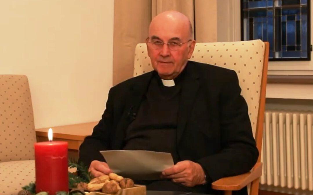 Weihnachtsgruß von Bischof Felix Genn